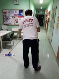 UMYTO - umývanie podlahy v zdravotníckom zariadení