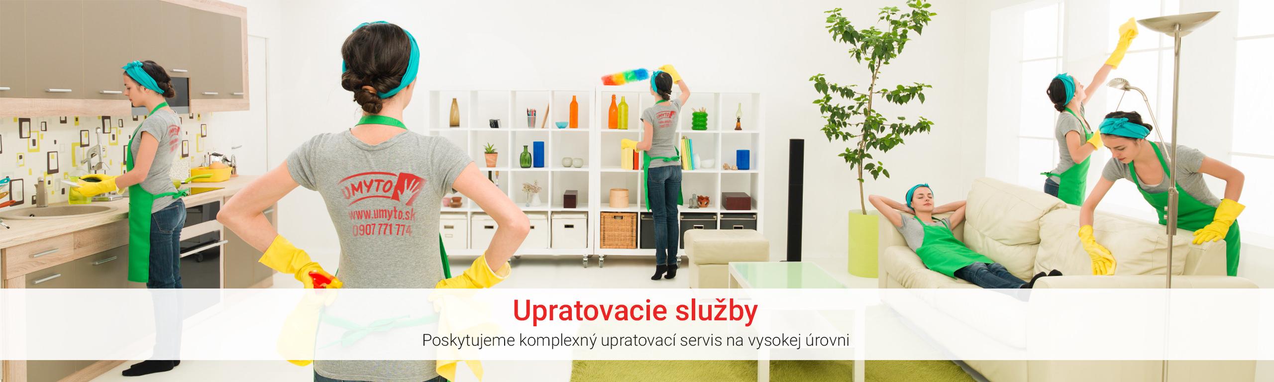 Upratovacie služby